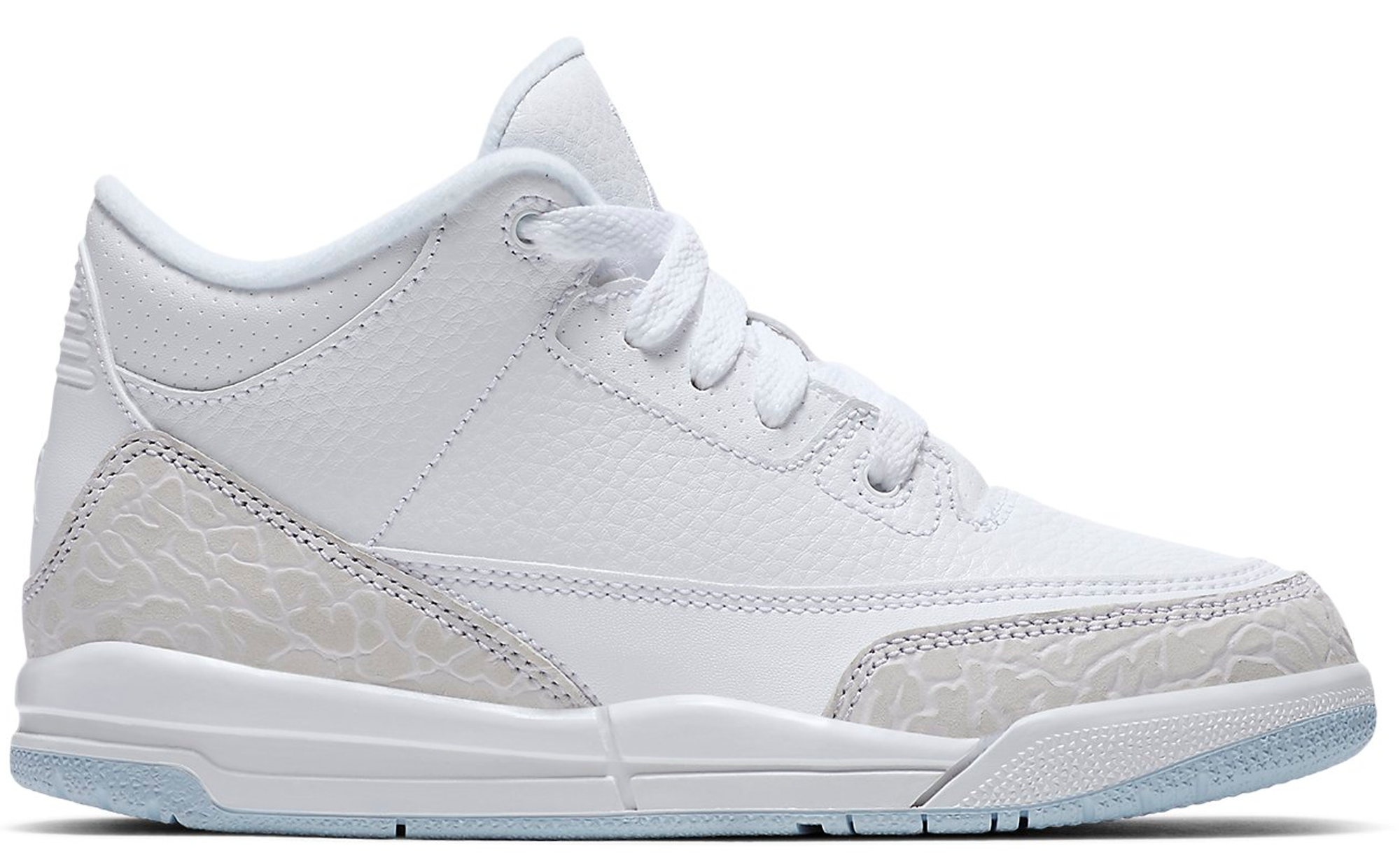 Jordan 3 Retro Pure White 2018 (PS