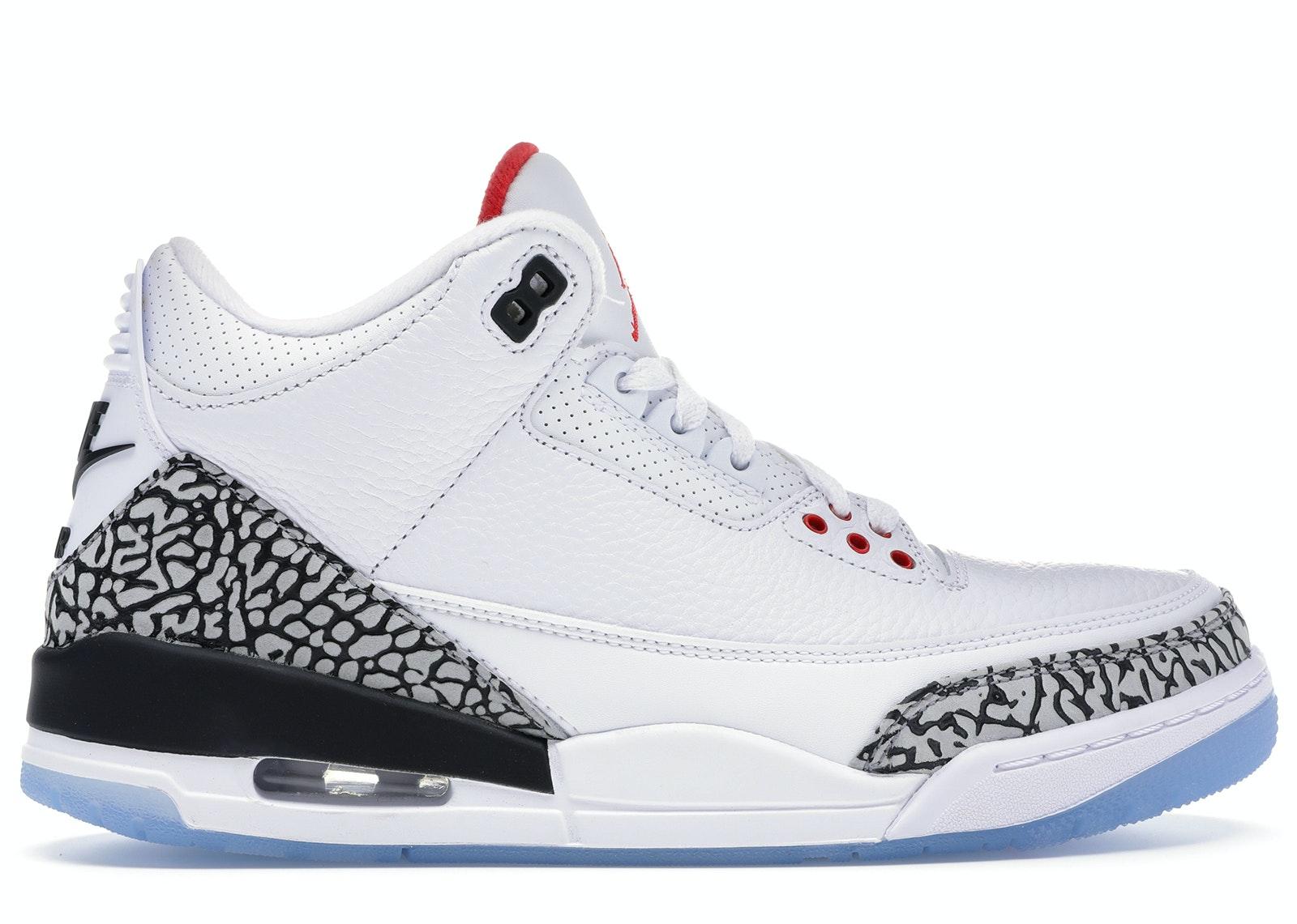Jordan 3 Retro Free Throw Line White Cement