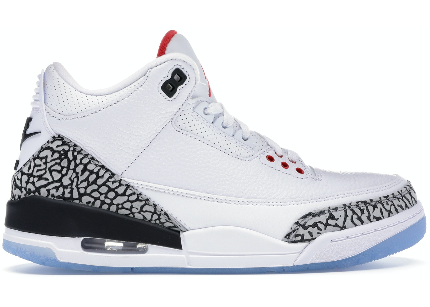 Jordan 3 Retro Free Throw Line White Cement - 923096-101 85b8f3e991b2