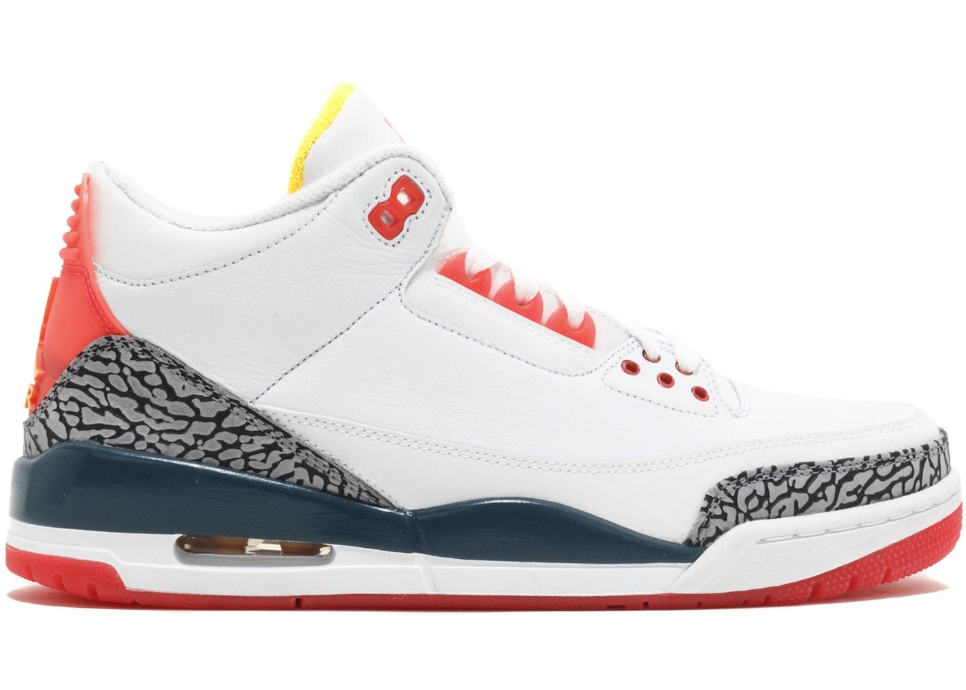 sports shoes 42bcf fc728 Air Jordan 3 Shoes - Average Sale Price