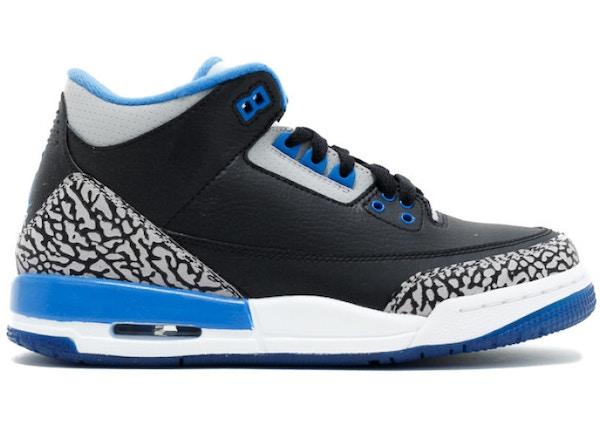 cheap for discount a8e4a 26ef1 Jordan 3 Retro Sport Blue (GS)