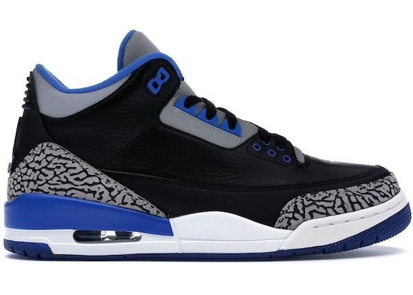buy popular dbfb9 f52fa Jordan 3 Retro Sport Blue - 136064-007