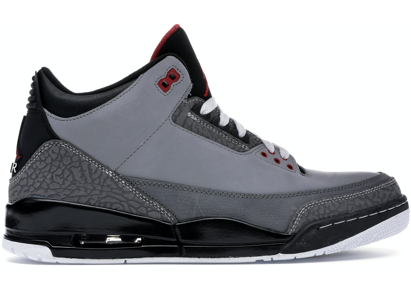 newest 8db35 9e385 Jordan 3 Retro Stealth - 136064-003