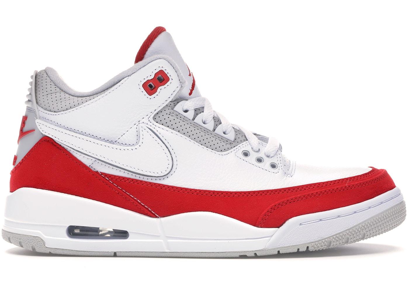 low priced 408dd 4918b Jordan 3 Retro Tinker White University Red