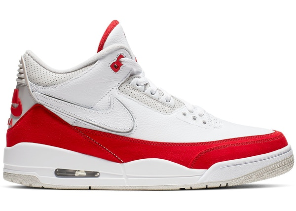 low priced 2605e cc76a Jordan 3 Retro Tinker White University Red