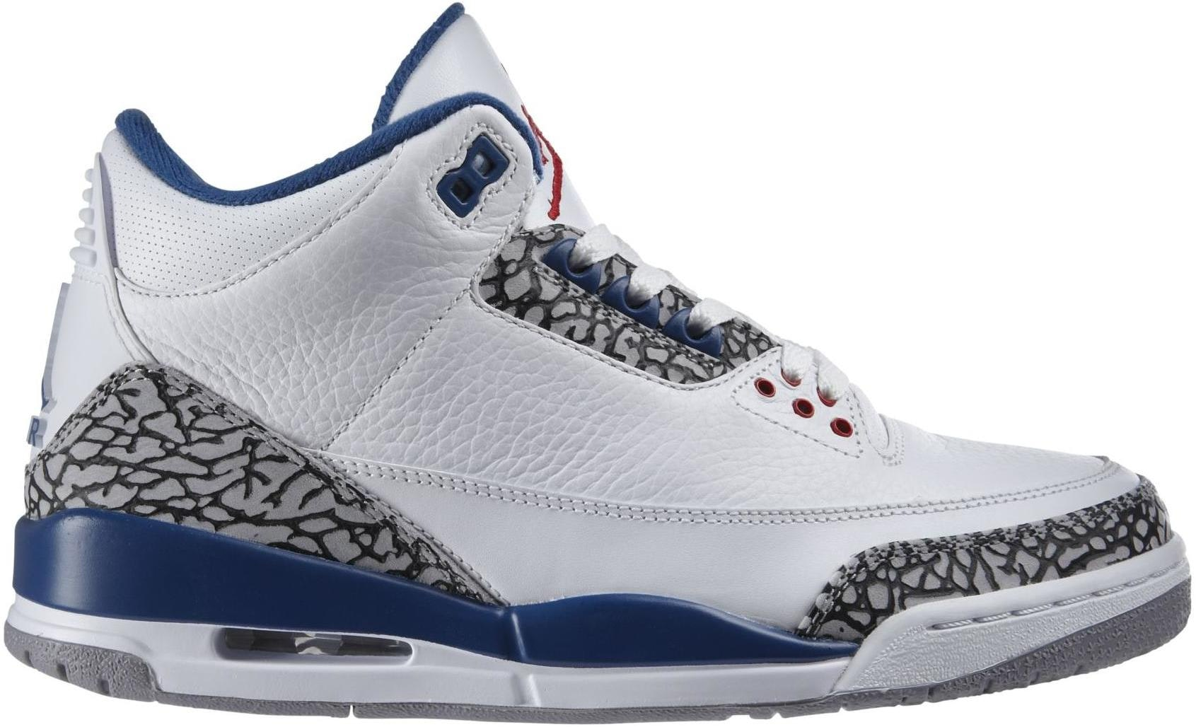 Jordan 3 Retro True Blue (2009)