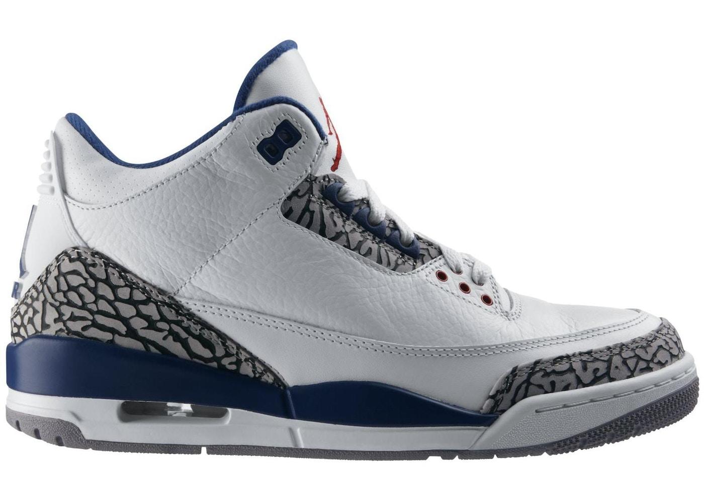 2a7423d735dd Jordan 3 Retro True Blue (2011) - 136064-104