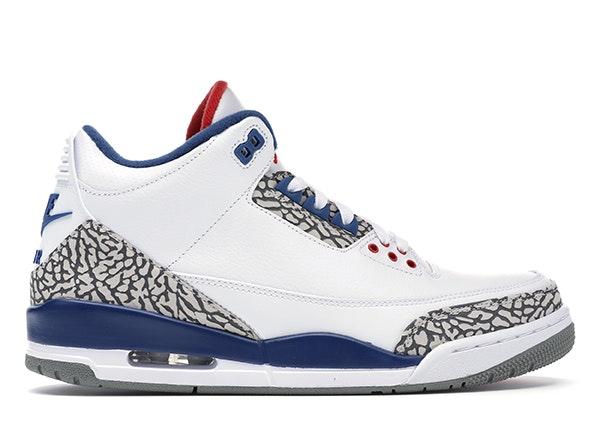 Jordan 3 Retro True Blue (2016)