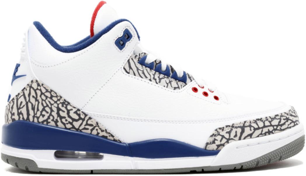 8cd30f1e5f1871 Air Jordan 3 True Blue - StockX News