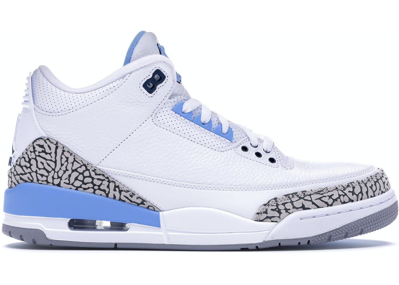 finest selection 5ae46 52baa Jordan 3 Retro UNC PE