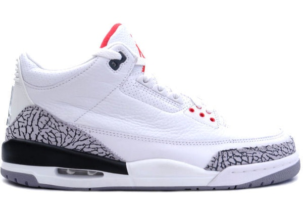 cheap for discount 45158 0d120 Jordan 3 Retro White Cement (1994) - 130203-101