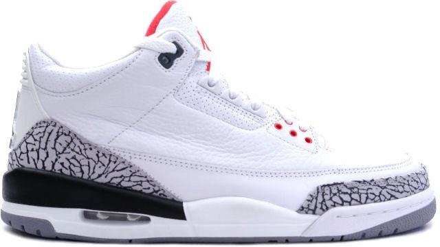 Jordan 3 Retro White Cement (2003)
