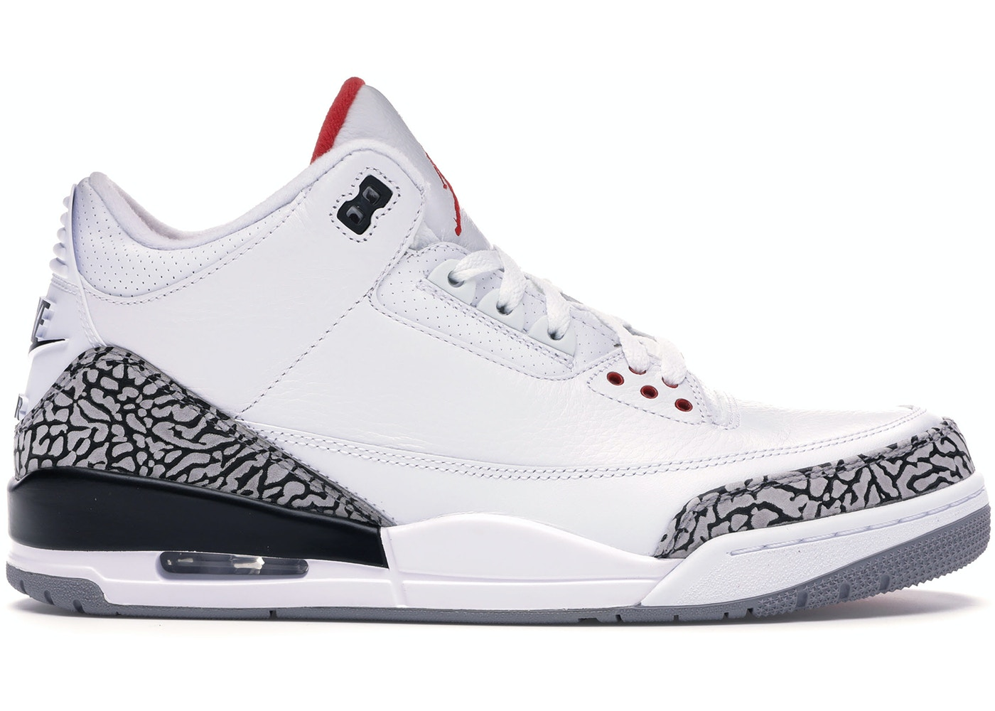 womens Air jordan 3 Jordan 3 Retro White Cement ('88 Dunk Contest 2013) - 580775-160