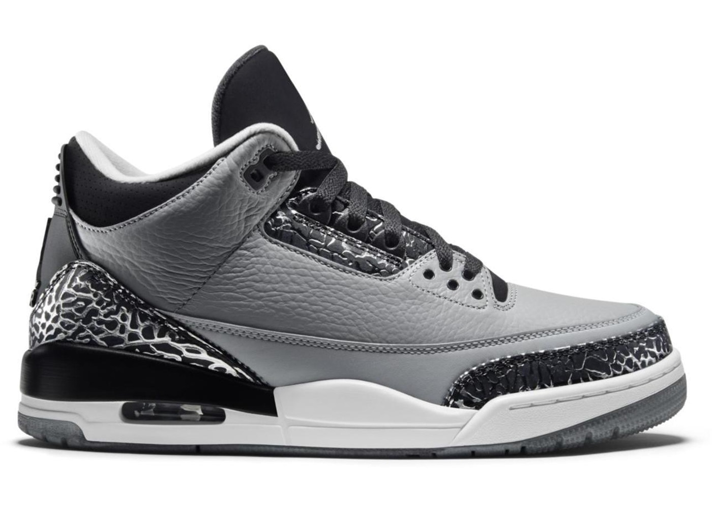 premium selection 65e92 7e507 Jordan 3 Retro Wolf Grey - 136064-004