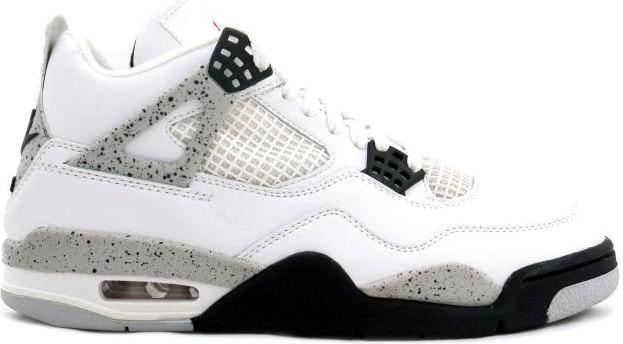 Jordan 4 OG White Cement (1989)