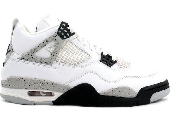 best service c0240 7fa7f Jordan 4 OG White Cement (1989) - 4362