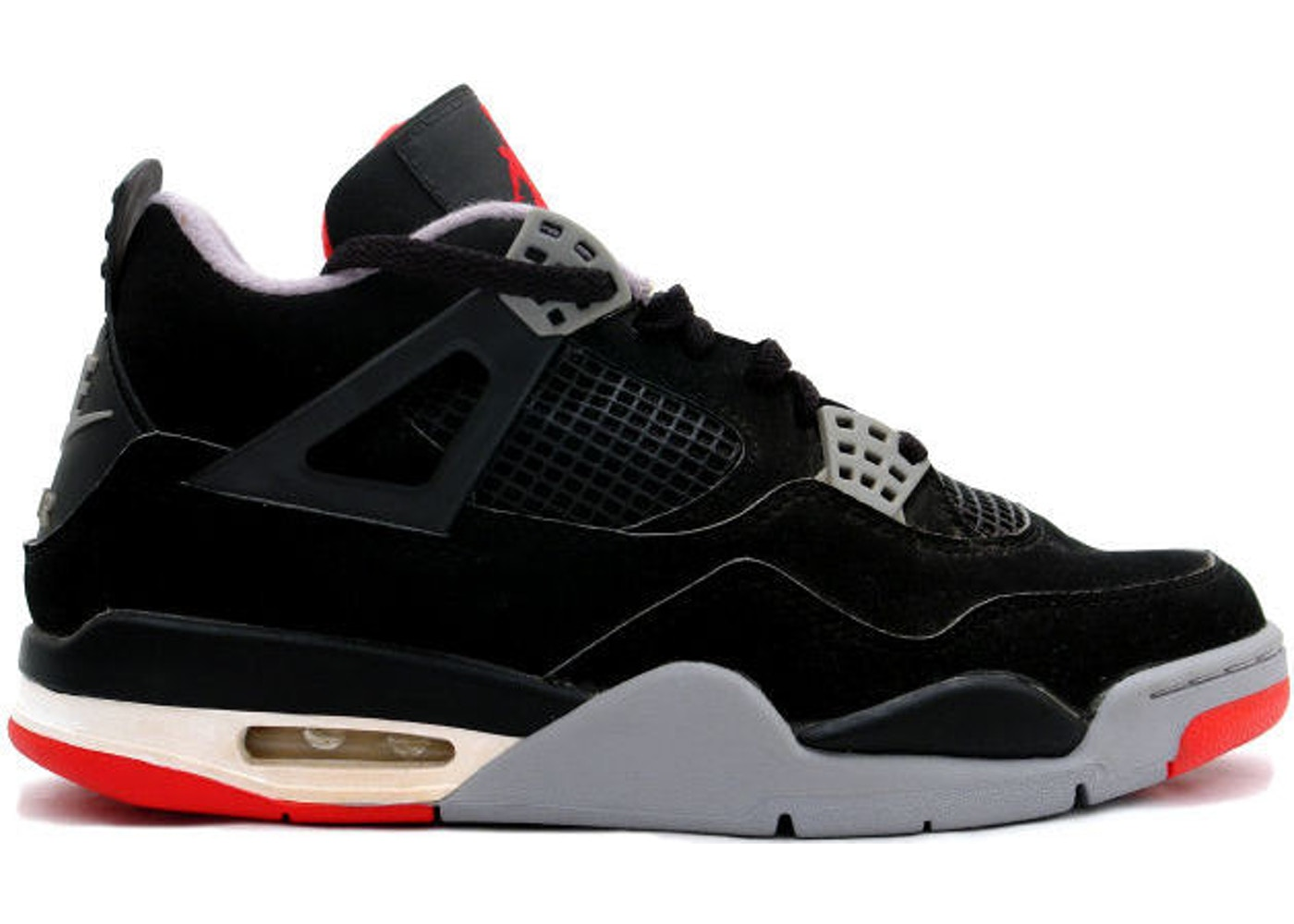 buy online 3485b afefa Jordan 4 Retro Black Cement (1999) - 136013-001