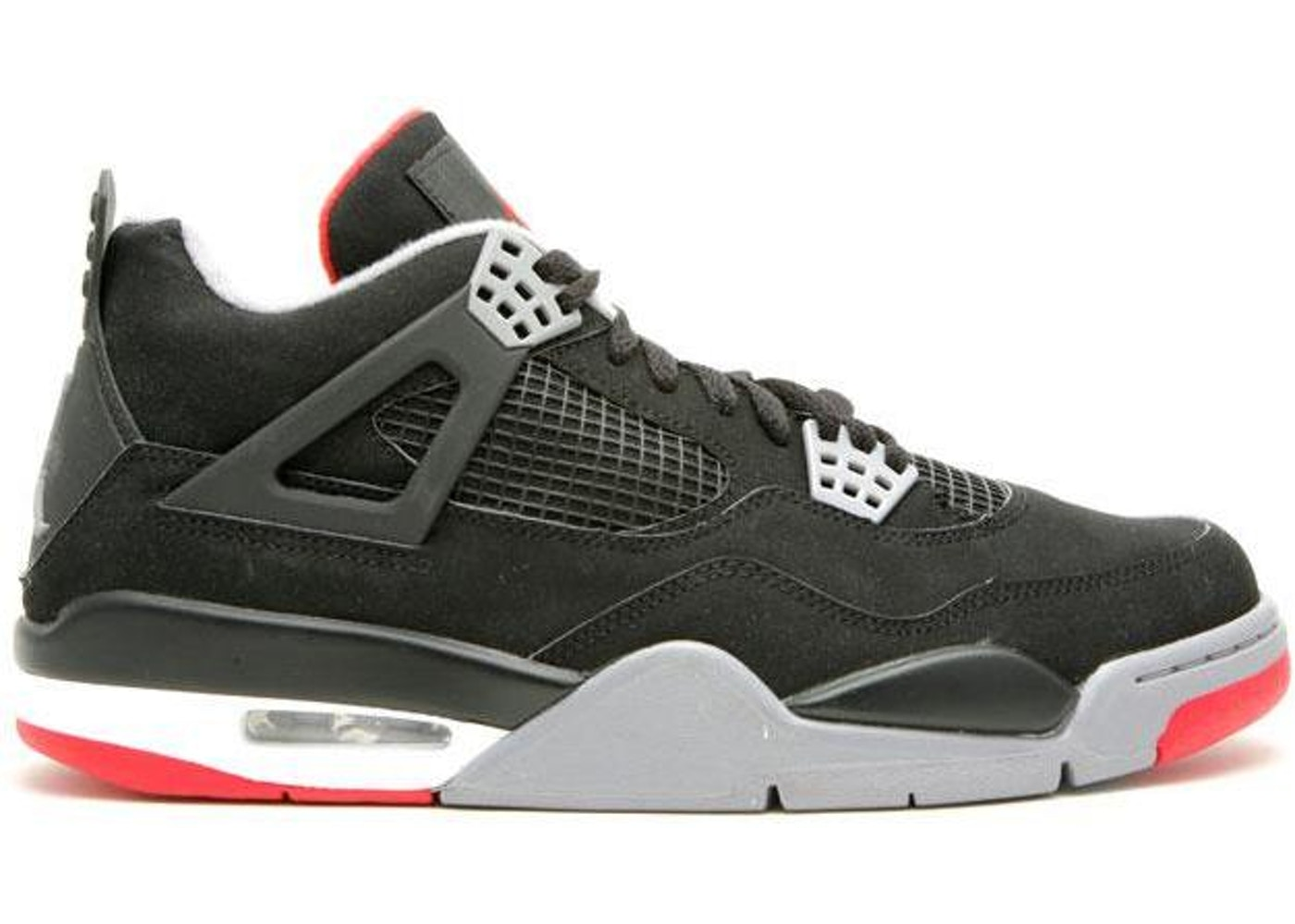 7f4464ff51b1e5 Jordan 4 Retro Black Cement CDP (2008) - 308497-003