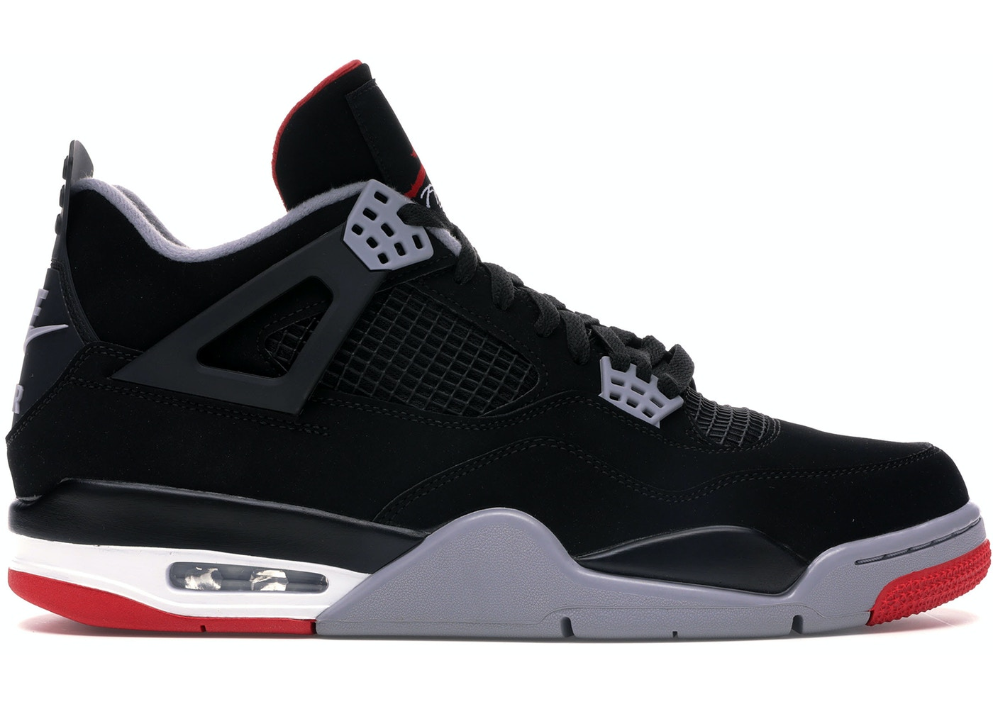 huge selection of 6bd87 d909a Jordan 4 Retro Bred (2019) - 308497-060