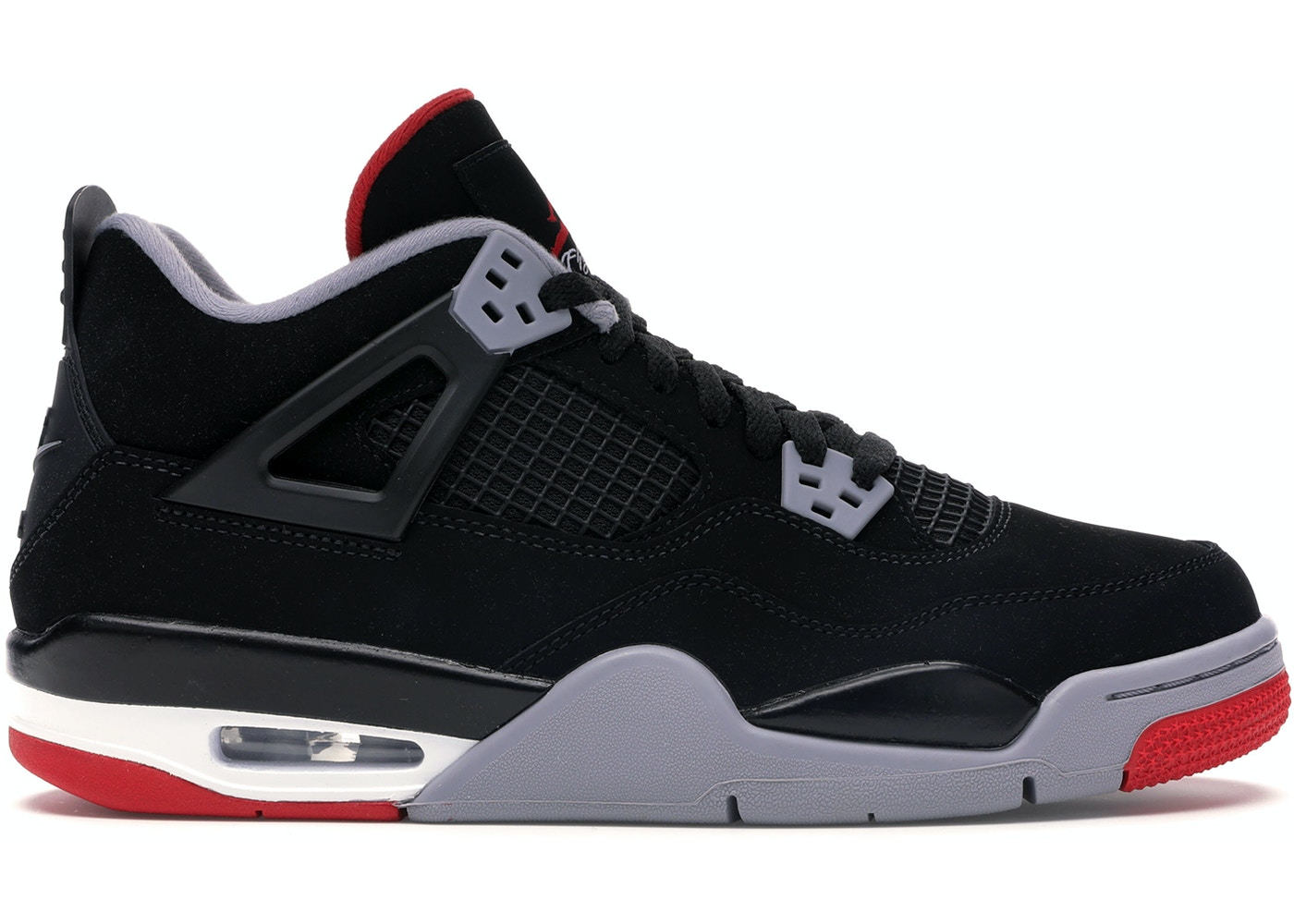 the best attitude cbc67 0c106 Jordan 4 Retro Bred 2019 (GS)