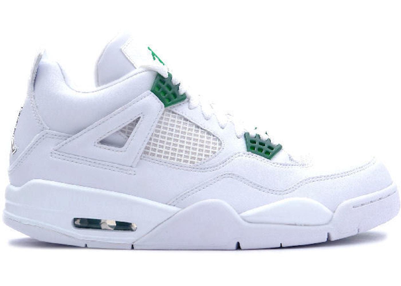 75c4d2f8fe7f50 Jordan 4 Retro Classic Green - 308497-101