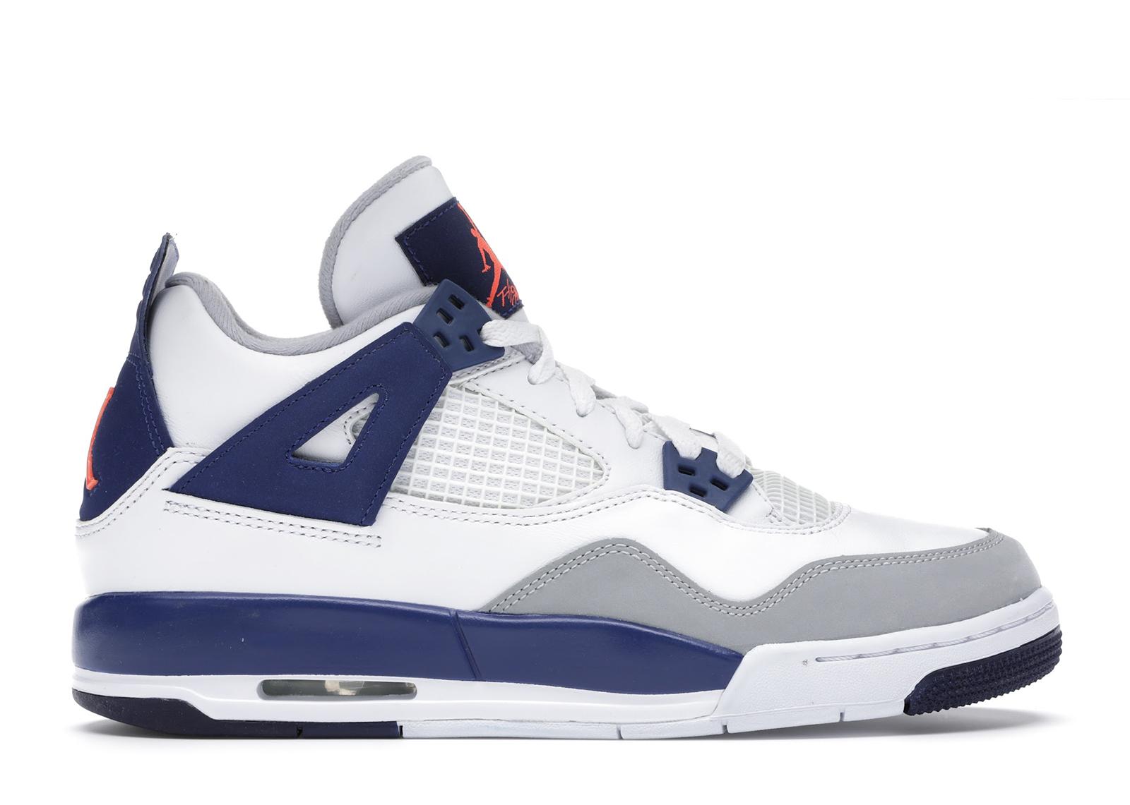 Jordan 4 Retro Deep Royal Blue (GS