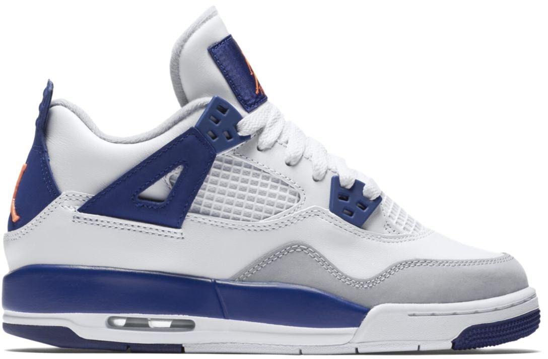 Jordan 4 Retro Deep Royal Blue (GS)