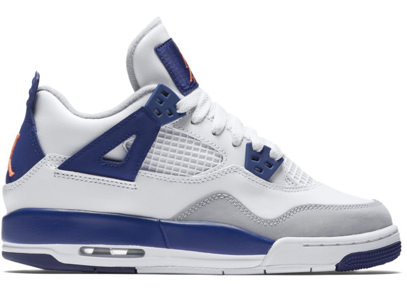 77588f9ad7658a Jordan 4 Retro Deep Royal Blue (GS) - 487724-132