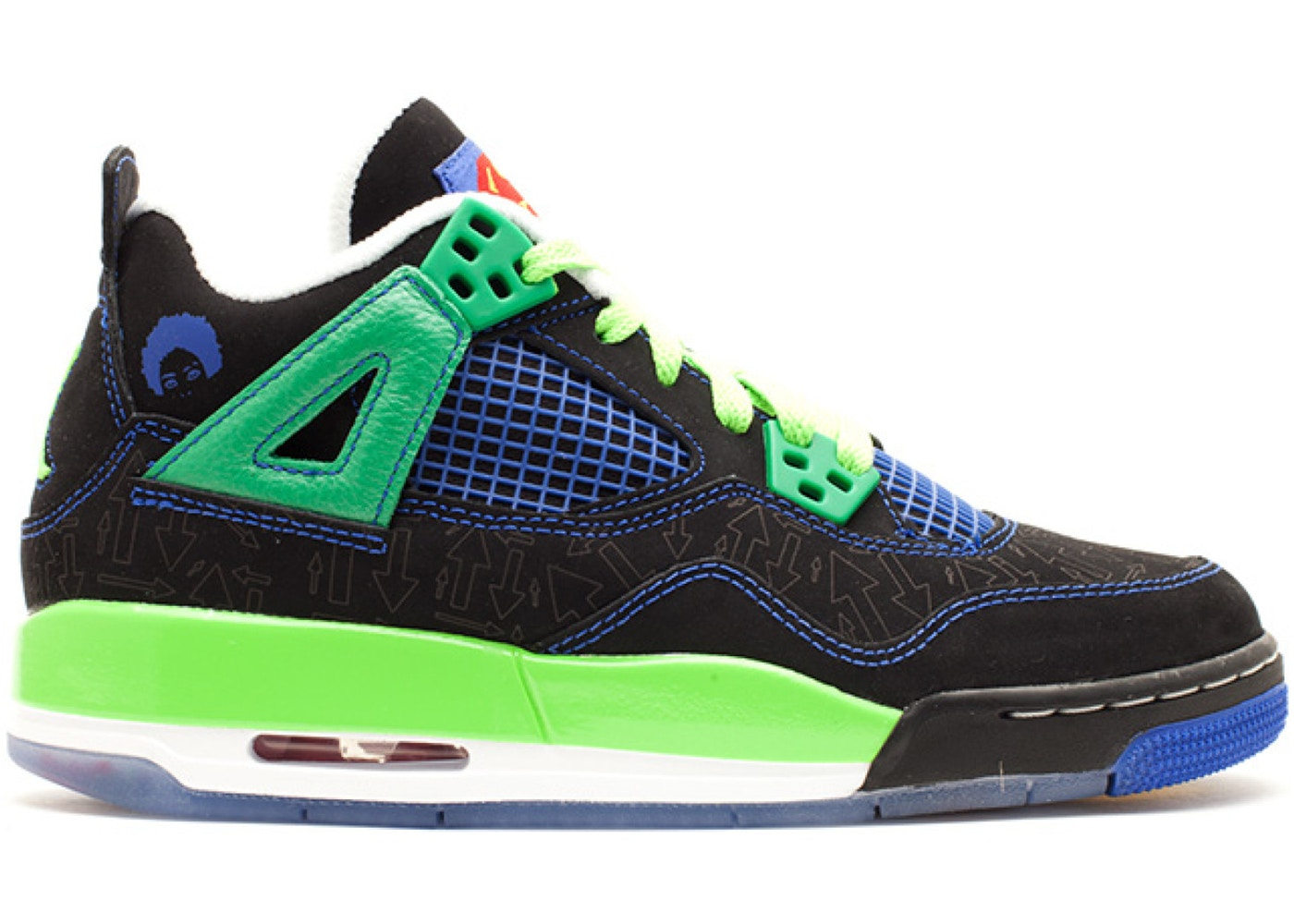 Jordan 4 Retro Doernbecher (GS) - 408452-015 782f3db995
