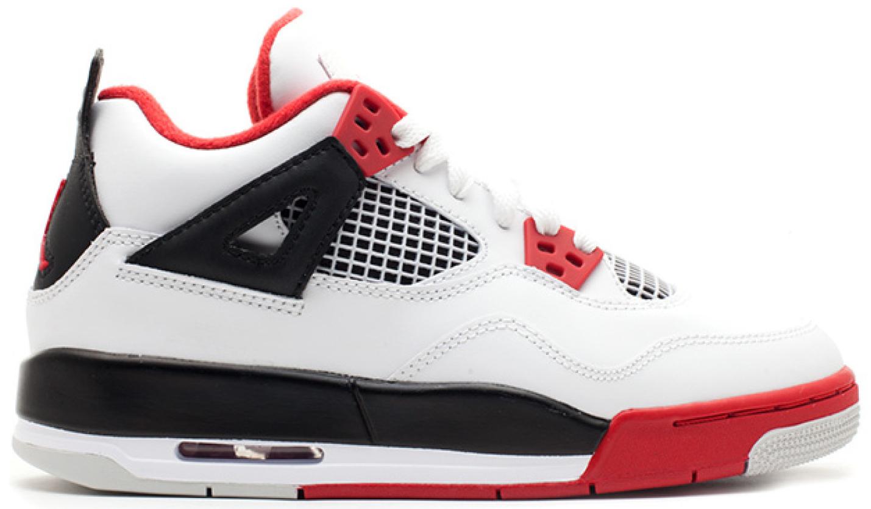 Jordan 4 Retro Fire Red 2012 (GS
