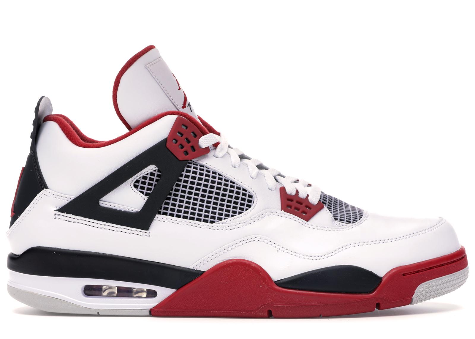 Jordan 4 Retro Fire Red (2012) - 308497-110