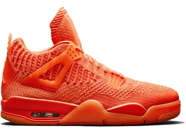 new product 703f9 5aea9 Jordan 4 Retro Flyknit Orange