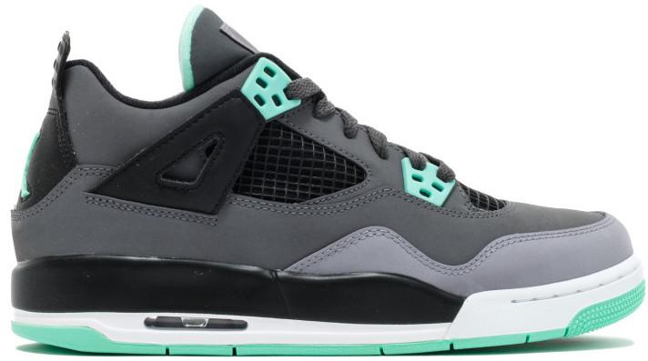 Jordan 4 Retro Green Glow (GS) - 408452-033