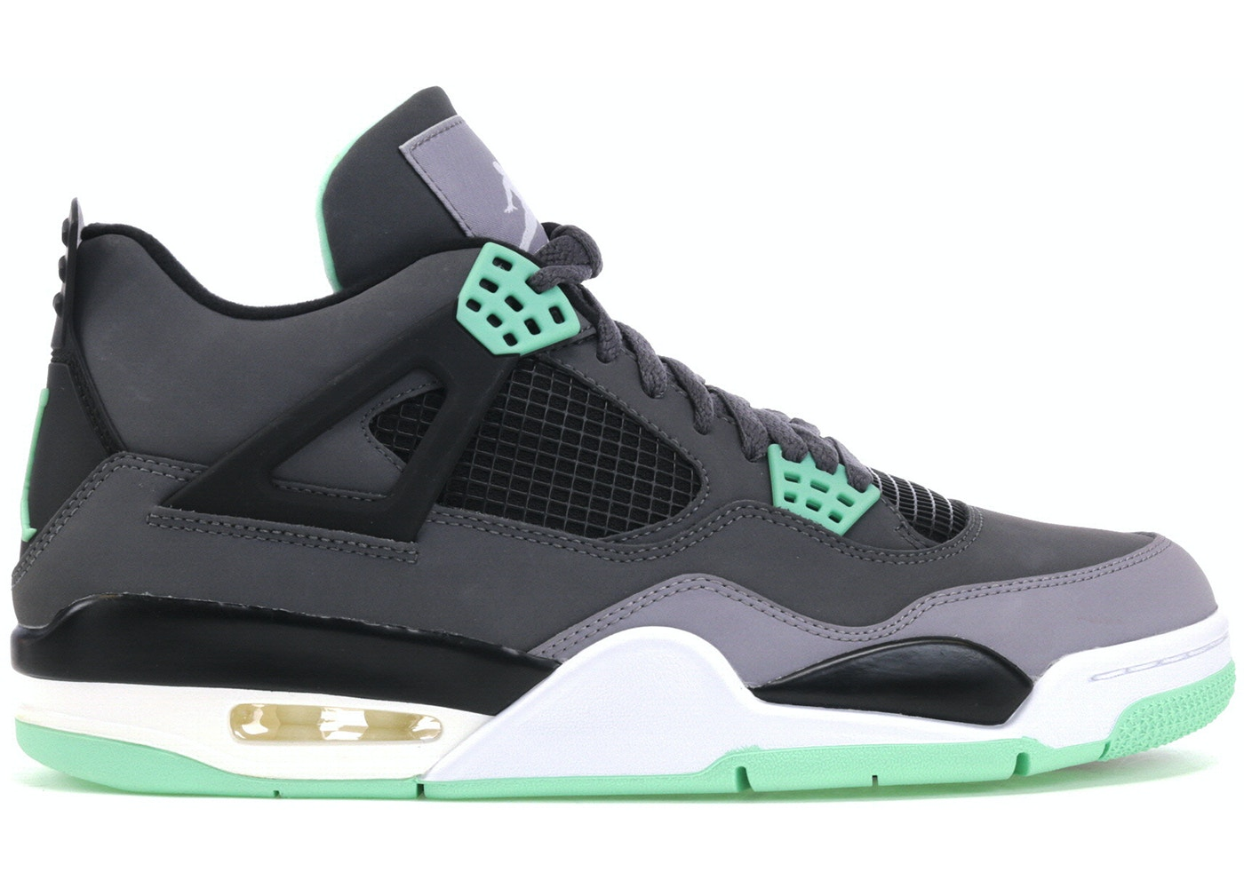 huge discount 81db0 42498 Jordan 4 Retro Green Glow - 308497-033