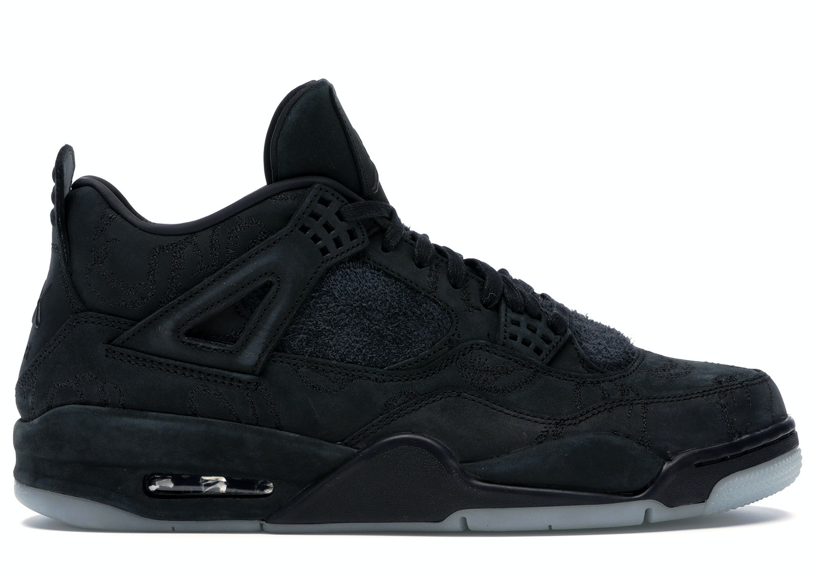 Jordan 4 Retro Kaws Black