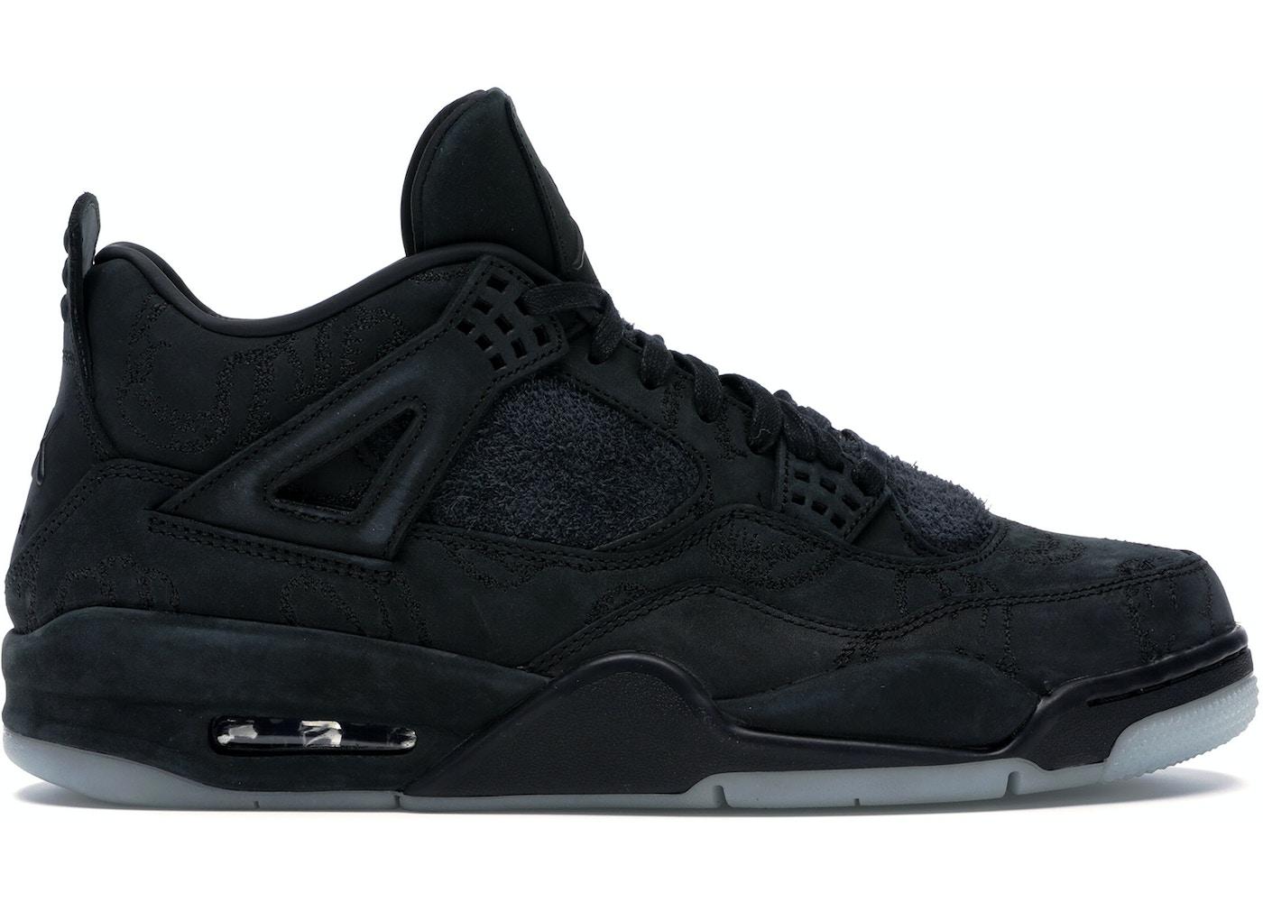 Jordan 4 Retro Kaws Black