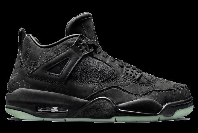Air Jordan Jordan Retro 4 Kaws Noirs