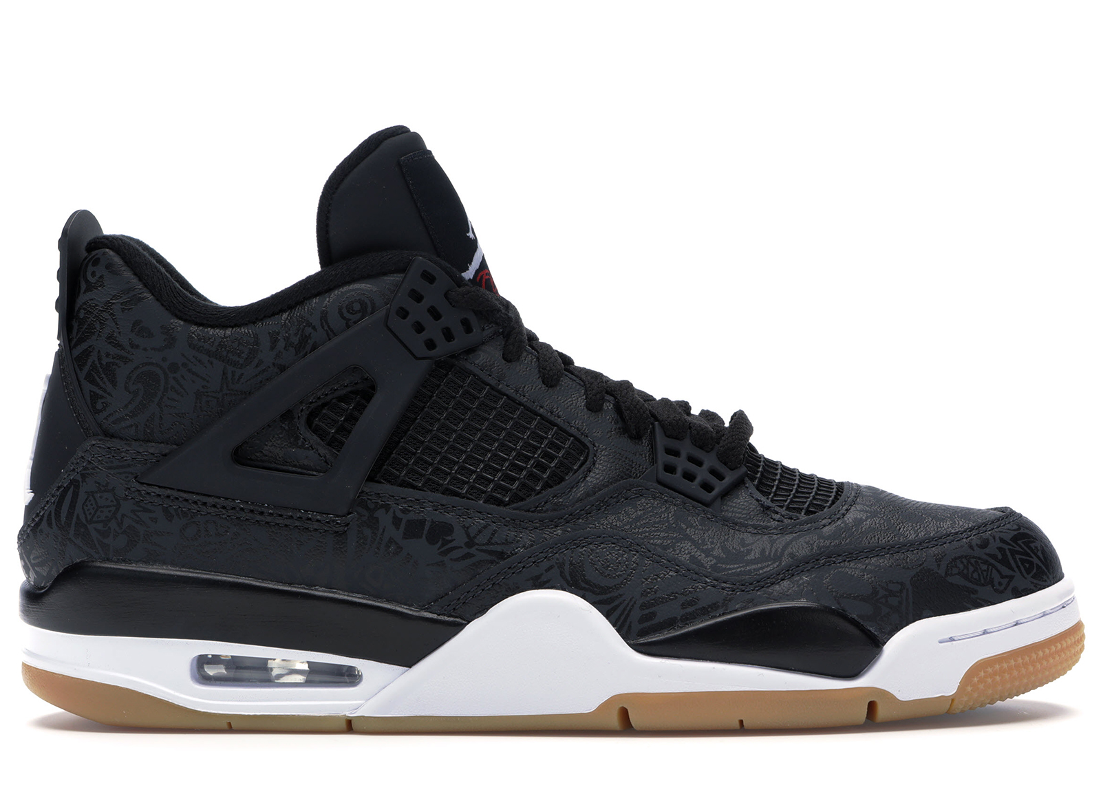 NIKE AIR JORDAN IV RETRO LASER BLACK