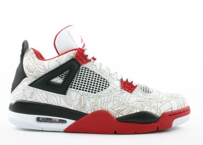 Jordan 4 Retro White Laser