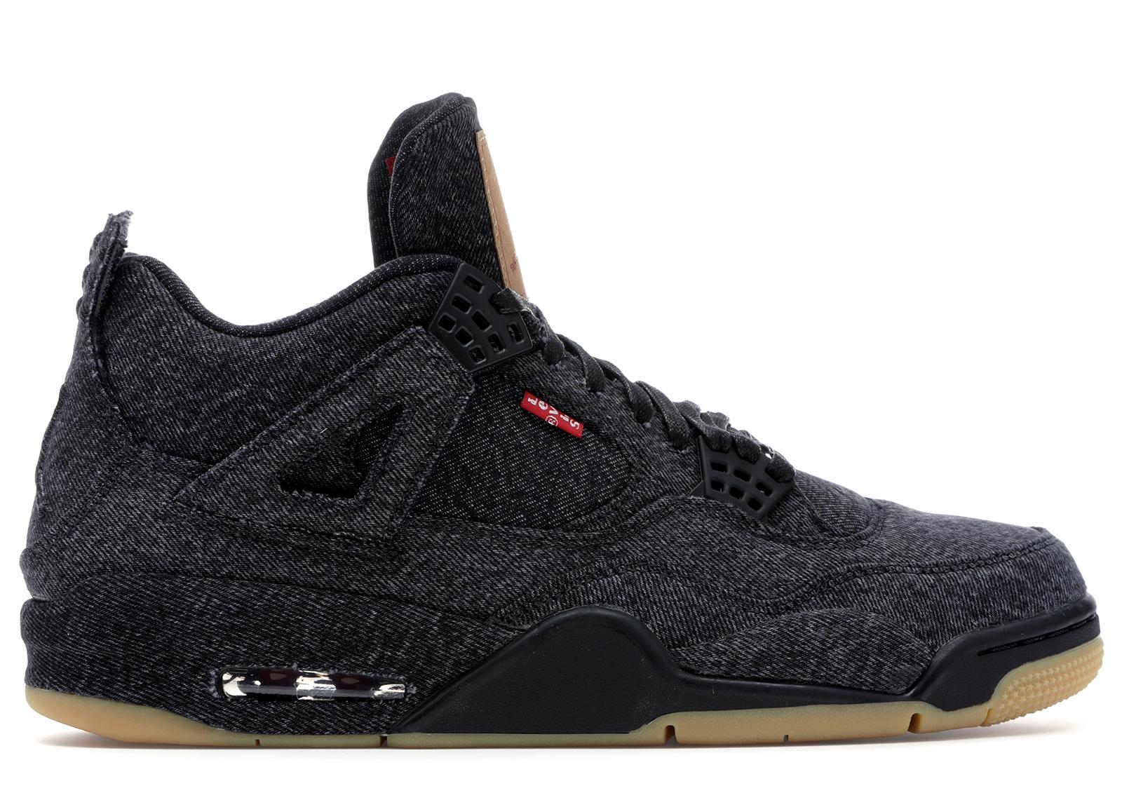 Jordan 4 Retro Levi's Black (Levi's Tag