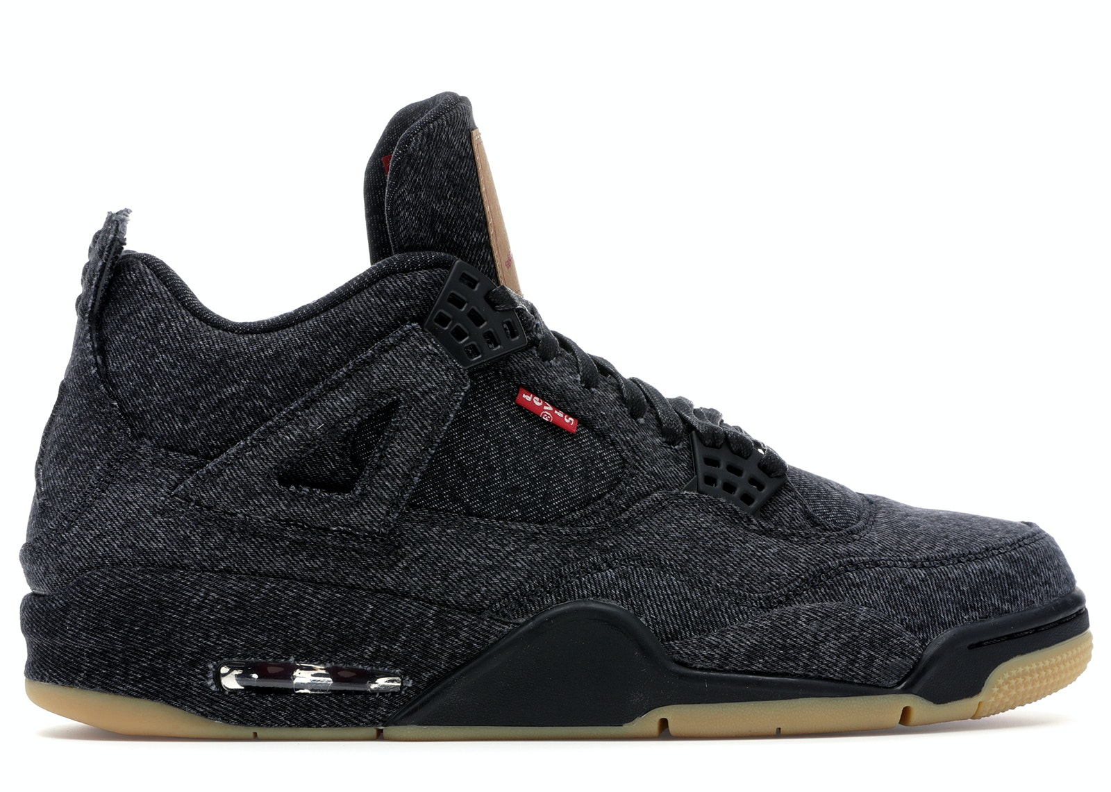 Jordan 4 Retro Levi's Black (Levi's Tag)