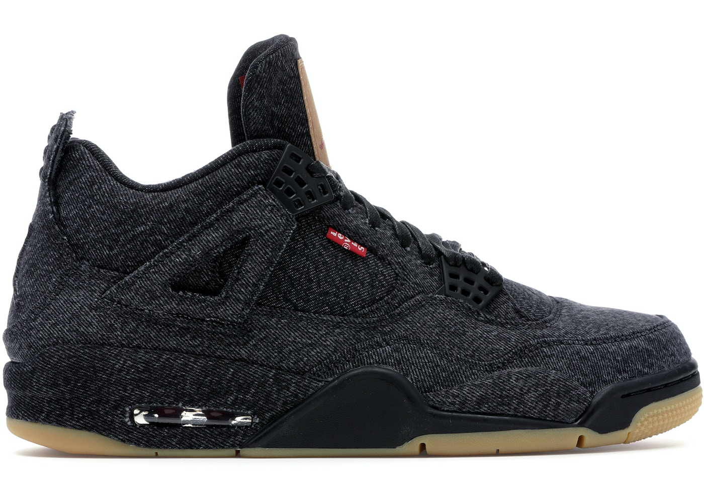 best sneakers ffc31 7573e Jordan 4 Retro Levi's Black (Levi's Tag)