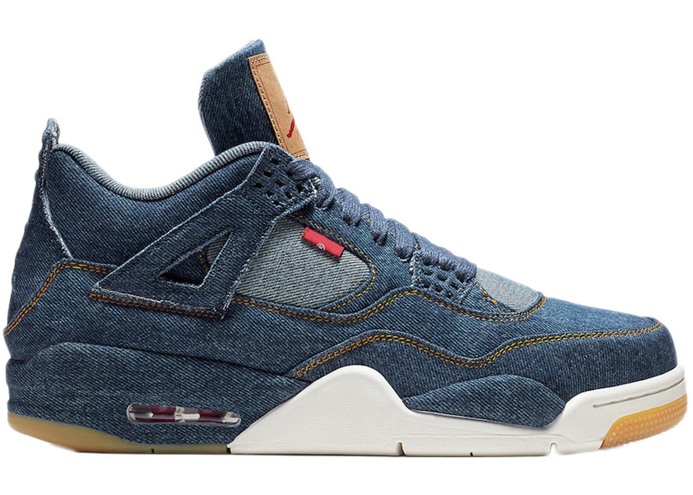 Jordan 4 Retro Levi's Denim (Blank Tag)