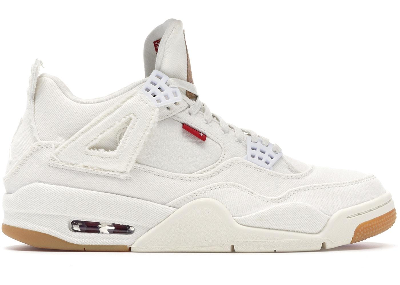 Jordan 4 Retro Levi's White (Blank Tag