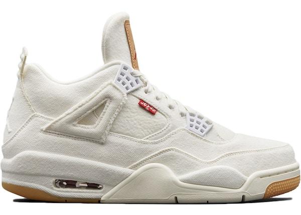 966a43162ee6f5 Jordan 4 Retro Levi s White (Levi s Tag) - AO2571-100