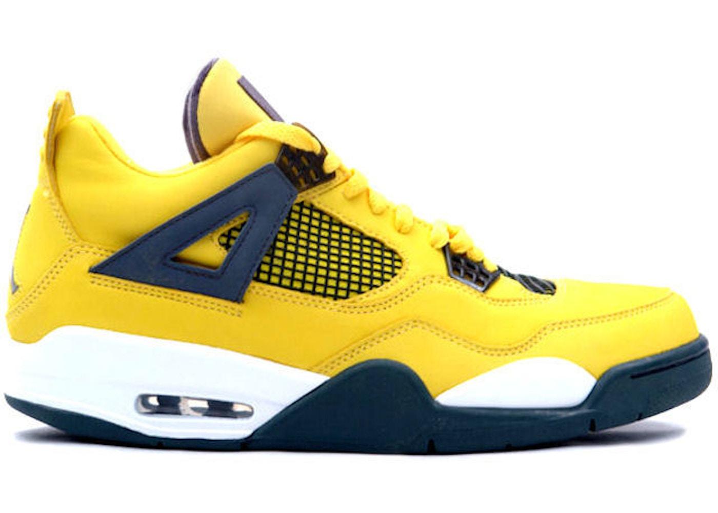 sneakers for cheap ad96d 7170e Jordan 4 Retro Lightning - 314254-702