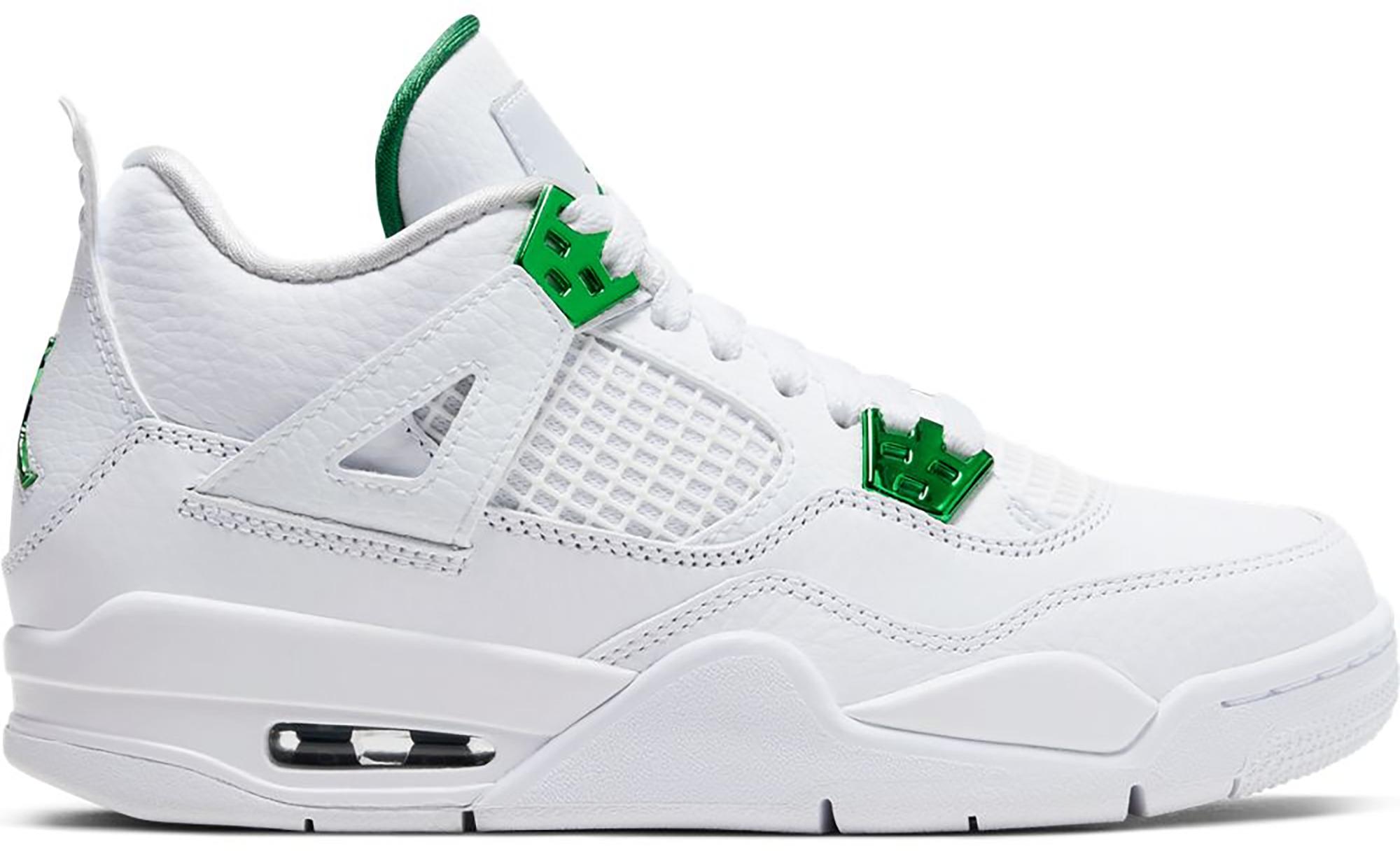 Jordan 4 Retro Metallic Green (GS