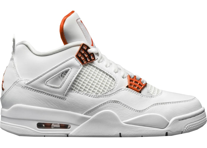 Jordan 4 Retro Metallic Orange