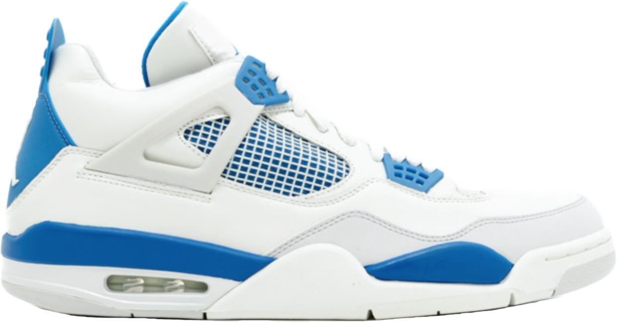 Jordan 4 Retro Military Blue (2006)