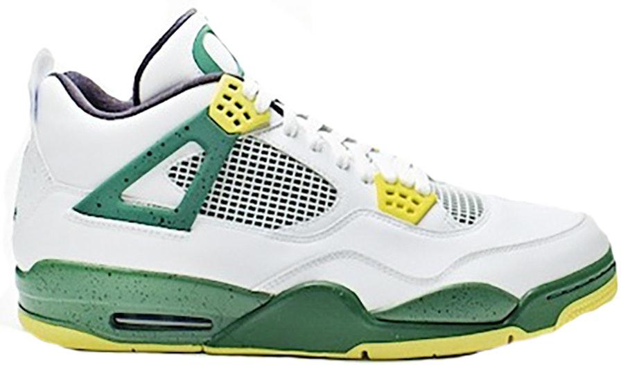 Discount Nike Jordan 4 Cheap sale Oregon Ducks